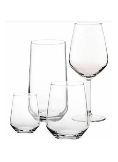 Paşabahçe Allegra Su Bardak Takımı - Su Bardağı Seti 24 Prç. Renkli